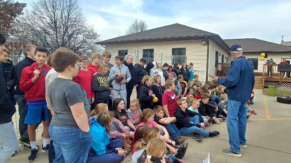 Webb House Side Gathering